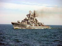 Der Zerstörer Nastoitschiwy (610) im Juni 2005