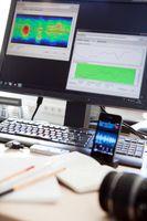 Blick in die Redaktion der Zukunft: Mit der Software von Fraunhofer können Journalisten in wenigen S Quelle: Fraunhofer IDMT (idw)