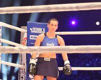 Julia Irmen WKU-Super-Fight im Jahr 2012 in Berlin