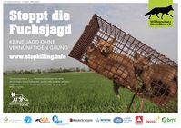 Weitere Motive zur Plakatkampagne in Berlin, Bonn, Hannover auf www.stopkilling.info Bild: Wildtierschutz Deutschland e.V. Fotograf: Wildtierschutz Deutschland e.V.