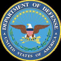 Logo der Streitkräfte der Vereinigten Staaten (offizielle englische Bezeichnung: United States Armed Forces, inoffiziell meist US military)