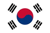 Flagge von Republik Korea