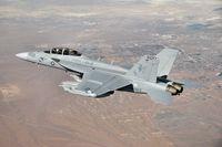 "Testflug einer F18 EA-18G ""Growler"""
