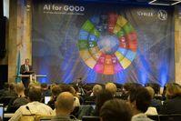 """Audi-Vorstandschef Prof. Rupert Stadler hat bei einem Kongress der Vereinten Nationen über den Umgang mit Künstlicher Intelligenz zum Wohl der Menschheit gesprochen.Bild : """"obs/Audi AG/Remo Eisner-CH"""""""