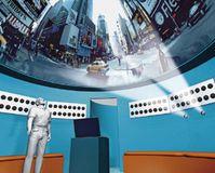 Im Multimedia Dome, dem ersten digitalen Kuppelkino mit natürlichem Raumklang, werden Besucher von Videos und Klängen umhüllt - beste Akustik auf allen Plätzen. © Fraunhofer FIRST/allsky.de