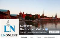 """""""LN Online"""": keine Flüchtlings-Artikel mehr auf Facebook. Bild: facebook.com"""