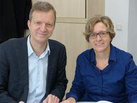 Prof. Dr. Thomas Großbölting und Dr. Sabine Kittel Quelle: Foto: Historisches Semiar der WWU (idw)
