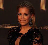 Sylvie Meis beim Deutschen Fernsehpreis 2012