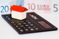 Haus Geld Taschenrechner
