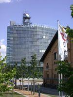 Die MDR-Zentrale in Leipzig