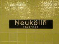 """Seit 1992 trägt der U-Bahnhof wieder den Zusatz """"Südring"""""""