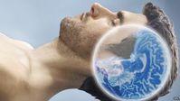 Schlafender Mann: Gehirn reinigt sich im Ruhemodus von selbst. Bild. SPL