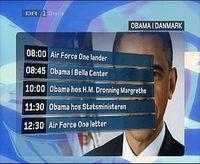 Präsident Obamas Kopenhagen Besuch. Bild: EIKE