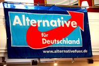 Plakat der Alternative für Deutschland AfD. Bild:  blu-news.org, on Flickr CC BY-SA 2.0