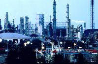 Blick auf das BASF Werk von Norden