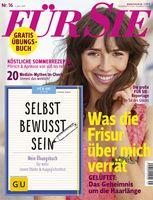 """Die neue FÜR SIE - jetzt im Handel. Bild: """"obs/Jahreszeiten Verlag, FÜR SIE"""""""