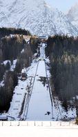 Skiflug am Kulm