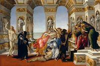 Die Verleumdung des Apelles Sandro Botticelli, 1494–1495