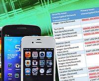 Apps mit Lücken: Daten oft nicht geschützt. Bild: unhcfreg.com