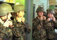 Soldatinnen bei der Bundeswehr (Symbolbild)