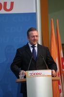 Frank Henkel bei der Landesmitgliederversammlung der CDU Berlin