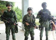Chinesische Soldaten der 542. Panzerbrigade (Symbolbild)