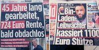 Die BILD Zeitung verläßt den Rahmen der neutralen Berichterstattung (Symbolbild)