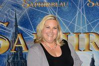 Kerstin Gier auf der Premiere des Films Saphirblau.