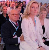 Hubert Burda und Maria Furtwängler