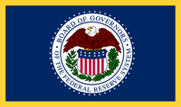 Flagge des Federal Reserve System (FED)