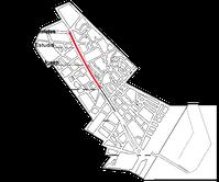 Route des Lieferwagens während des Anschlags auf Las Ramblas in Barcelona