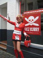 Olivia Jones, die internationale Drag Queen zeigt Gästen der TUI die 'Off-Szene' Hamburgs. Bild: Alexandra Rump