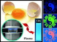 """Chinesische Wissenschaftler haben eine neue Methode entdeckt, mit der sich sog. C-dots (Carbon Dots; """"Kohlenstoff-Punkte"""") besonders schnell und kostengünstig aus Hühnereiern herstellen lassen. Quelle: (c) Wiley-VCH (idw)"""