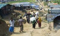 Rohingya in Myanmar häufig als Ziel von Hass-Postings.