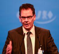 Gerd Müller auf dem CSU-Parteitag 2013