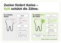 """Zahngesunder Zucker: So schützt Xylit vor Karies. Bild: """"obs/Xucker"""""""