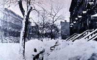 Blizzard in Brooklyn 1888