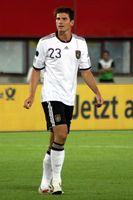 Mario Gómez in einem Länderspiel 2011