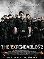 The Expendables 2 Kinoplakat