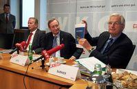 Mitterlehner, Leitl, Barnier