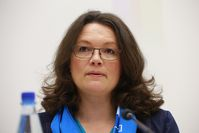 Andrea Nahles Bild: blu-news.org, on Flickr CC BY-SA 2.0