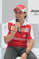 Felipe Massa (geb. 25. April 1981 in São Paulo) ist ein brasilianischer Automobilrennfahrer.