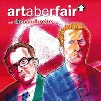 """Cover """"art aber fair"""" von Die Bandbreite."""
