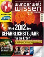 Zeitschrift WUNDERWELT WISSEN (Ausgabe 01/2012)