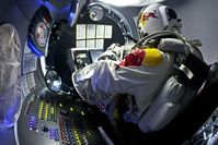 Red Bull Stratos Baumgartner Bild: Predrag Vuckovic Red Bull Content Pool
