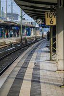 Leerer Bahnsteig (Symbolbild)