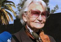 """ARD/NDR PANORAMA, """"Besuch bei Margot Honecker"""", am Donnerstag (29.10.09) um 22:00 Uhr im ERSTEN. Margot Honecker. Bild: NDR"""