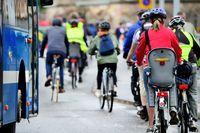 """Nicht zuletzt durch die Corona-Pandemie steigt die Zahl der Menschen, die das Fahrrad für den Arbeitsweg benutzen.  Bild: """"obs/BG ETEM - Berufsgenossenschaft Energie Textil Elektro Medienerzeugnisse/connel_design/stock.adobe.com"""""""