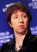 Catherine Ashton, 2009 Bild: 	World Economic Forum from Cologny, Switzerland / de.wikipedia.org