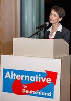 Frauke Petry Bild: Der Tempelhofer, on Flickr CC BY-SA 2.0